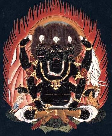 Кала Бхайрава Бхута Дамару Тантра